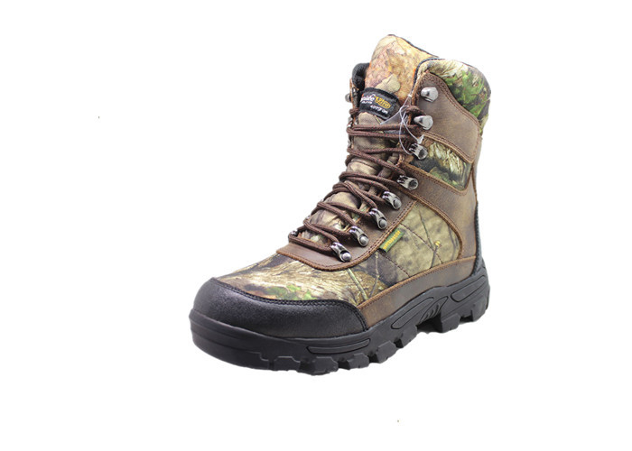 Cowboy Waterproof Hunting Boots , Camouflage 1000 Gram Insulated Hunting Boots For Mens